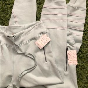 Free People Pants & Jumpsuits - Free People Movement Far Out Striped Jogger Pants